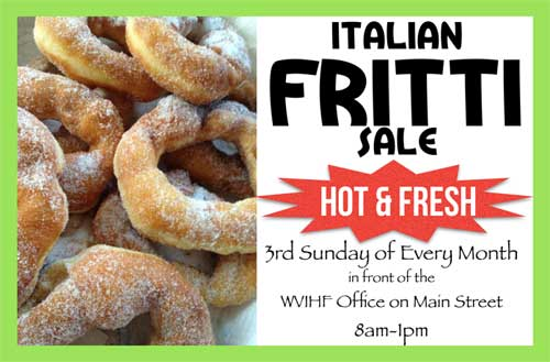 Fritti Sale Every Month